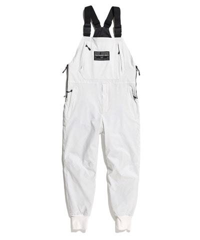 MILLER PADDED OVERALL PANTS WHITE