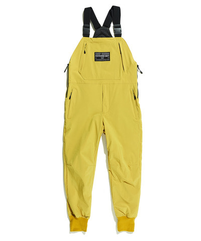 MILLER PADDED OVERALL PANTS MUSTARD