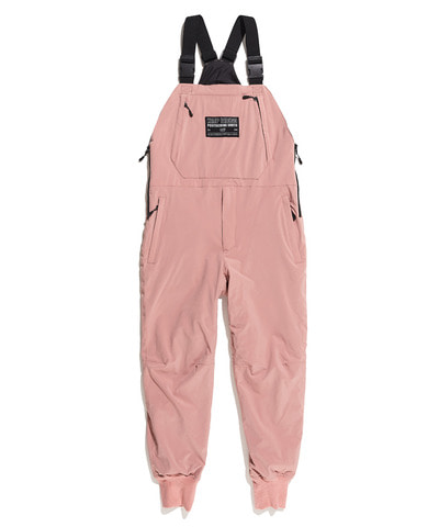MILLER PADDED OVERALL PANTS CORAL