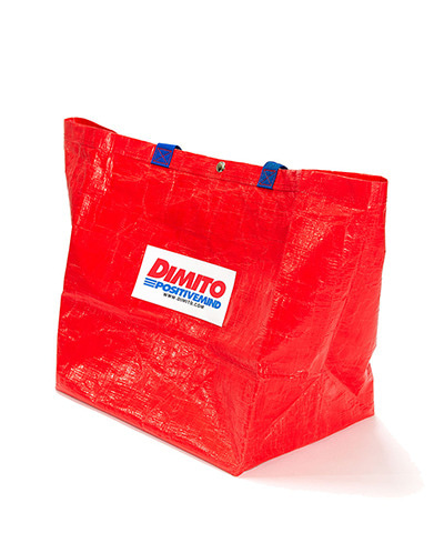 DMT SHOPPER BAG RED