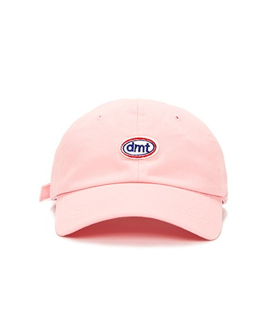POINT STITCH 6 PANEL CAP BABY PINK WASHED