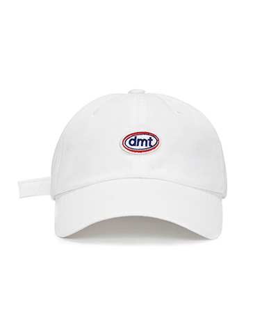 POINT STITCH 6 PANEL CAP WHITE WASHED