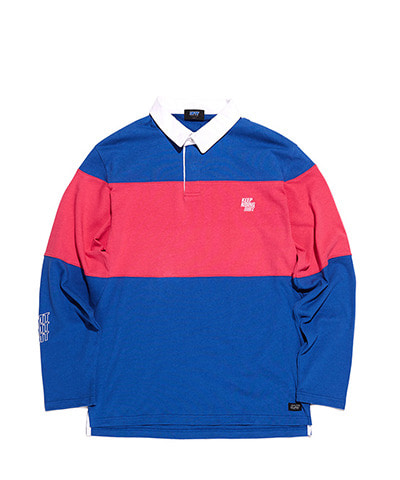 POLO LSV TEE ROYAL BLUE