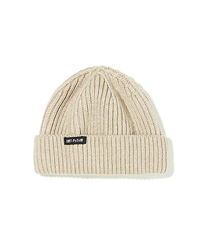 DMT CROPPED BEANIE BEIGE