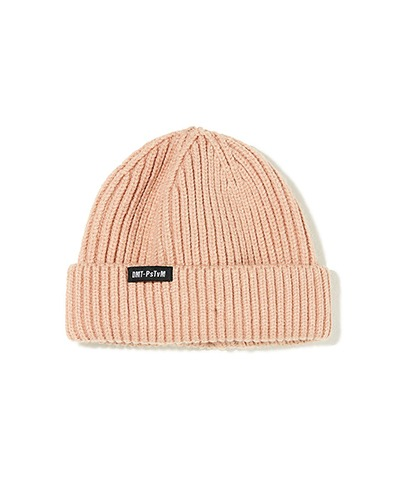 DMT CROPPED BEANIE CORAL